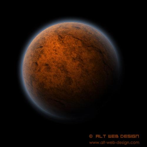 Cómo hacer un planeta en Photoshop - Paso 6